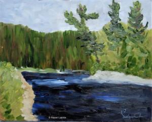 Réjean Lacroix artiste, Rivière Rouge, Kilmar, Québec