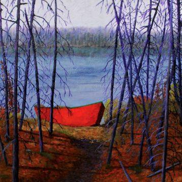 Réjean Lacroix, Lac à la chaloupe