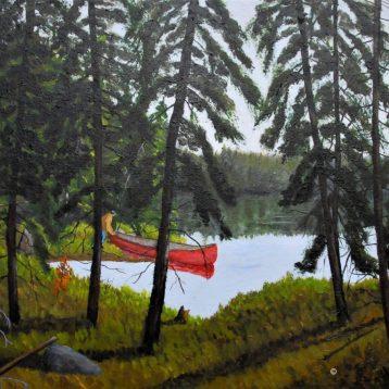 Réjean Lacroix, Lac Mouchetée